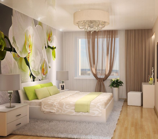Квартира в бежевых тонах дизайн