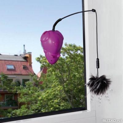 trixie игрушка для кошек мышка с удочкой