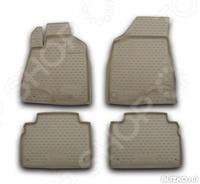 Комплект ковриков в салон автомобиля Novline-Autofamily Toyota Harrier 2003-2008 - фото 2