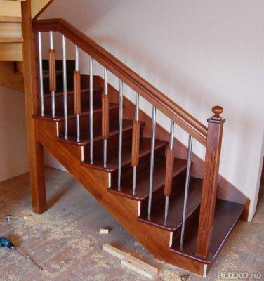 Как сделать лестницу на второй этаж дома фото